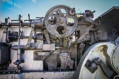 被放弃的大炮细节 免版税库存图片