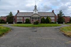 被放弃的学校-纽约 库存照片