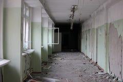 被放弃的学校 图库摄影