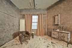 被放弃的室的装饰 图库摄影