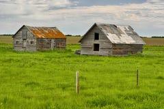 被放弃的家在多萝西 免版税库存照片
