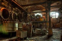 被放弃的屠杀在肉食品处理植物中 屠宰场Ros 库存图片