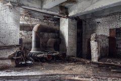 被放弃的工厂 图库摄影
