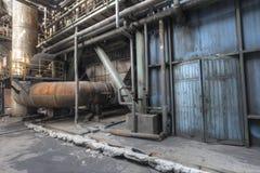 被放弃的工厂 库存照片