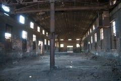 被放弃的工厂 库存图片