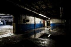 被放弃的工厂- Ferry Cap & Screw Company -克利夫兰,俄亥俄 库存照片