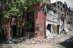 被放弃的帕卡德工厂13 免版税图库摄影