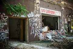 被放弃的帕卡德工厂17 库存图片