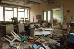 被放弃的幼稚园pripyat 免版税图库摄影
