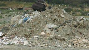 被放弃的废储蓄 环境污染问题 自然保存 影视素材