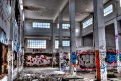 被放弃的废墟 免版税库存图片