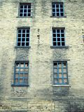 被放弃的废弃的老遗弃工厂或磨房厂房 库存图片