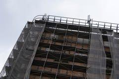 被放弃的建造场所 图库摄影