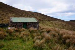 被放弃的房子在爱尔兰 免版税库存图片