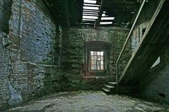 被放弃的房子存储 免版税库存图片