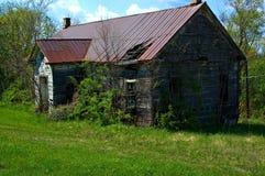 被放弃的房子学校 库存图片