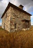 被放弃的房子石头 免版税库存图片