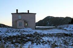 被放弃的房子 免版税库存照片