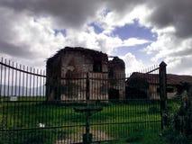 被放弃的房子 免版税库存图片