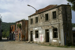 被放弃的房子 图库摄影