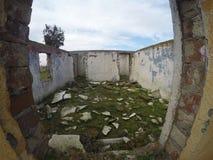 被放弃的房子 库存照片