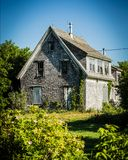 被放弃的房子 免版税图库摄影