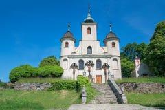 被放弃的教会 免版税库存照片