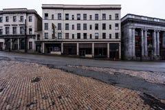 被放弃的旅馆-布朗斯维尔,宾夕法尼亚 免版税图库摄影