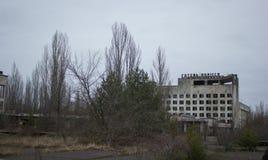 被放弃的旅馆 免版税图库摄影
