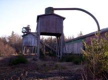被放弃的木料磨房 免版税图库摄影