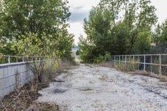 被放弃的桥梁 免版税图库摄影
