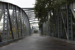 被放弃的桥梁 库存图片