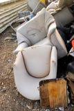 被放弃的椅子 图库摄影