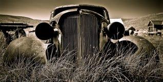 被放弃的汽车我 库存图片