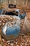 被放弃的汽车汽车 免版税库存照片