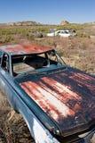 被放弃的汽车 免版税图库摄影