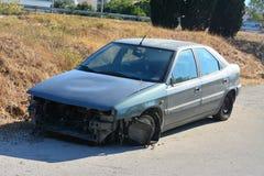 被放弃的汽车 图库摄影
