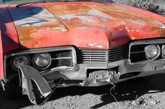 被放弃的汽车 库存照片