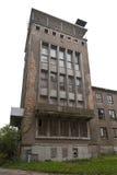 被放弃的海军学院在Wustrow 库存照片