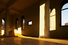 被放弃的清真寺 库存照片