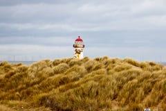 被放弃的灯塔在威尔士 免版税库存图片