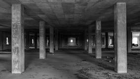 被放弃的烟草仓库 库存照片