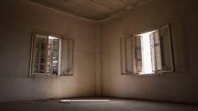 被放弃的烟草仓库 免版税库存照片
