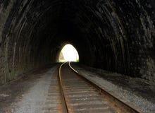 被放弃的石隧道 免版税库存照片