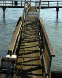 被放弃的码头 图库摄影