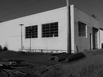 被放弃的砖瓦房 免版税图库摄影