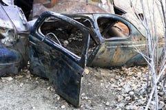 1941被放弃的福特小轿车 免版税图库摄影