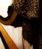 被放弃的竖琴 免版税库存照片
