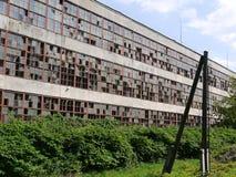 被放弃的编译的工厂 免版税库存照片