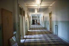 被放弃的编译的走廊 库存图片
